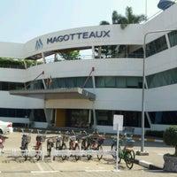 Photo taken at Magotteaux by Nattawut N. on 1/24/2012