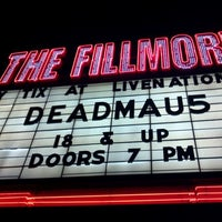 Photo taken at The Fillmore Detroit by Danny T. on 10/22/2011