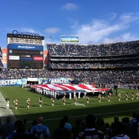 Photo taken at Qualcomm Stadium by Todd S. on 8/12/2011