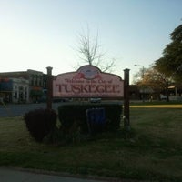Photo taken at Downtown Tuskegee by Ezysarel on 3/17/2011