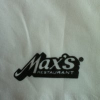 Photo taken at Max's Restaurant by Roning A. on 3/5/2011
