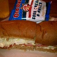 Photo taken at Jake's Stadium Pizza by Chris K. on 7/29/2012