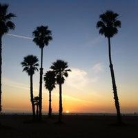 Photo taken at Santa Monica Beach Tower 26 by Ingrid B. on 1/29/2012