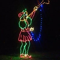 Photo taken at Tanglewood Festival of Lights by Daniel M. on 12/9/2011
