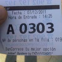 Photo taken at Oficina Correos by Sergio P. on 12/7/2011