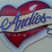 Photo taken at Andie's Cafe by Joseph P. on 5/28/2011