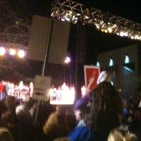 Photo taken at Christmas Tree Lighting by Bill M. on 11/26/2011