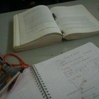 Photo taken at Biblioteca UTFSM by Ximena C. on 6/15/2012