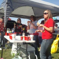 Photo taken at Ball State Tailgate Town by Johnny O. on 10/8/2011