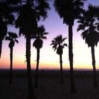 Photo taken at Huntington Beach Bike Trail & Boardwalk by Christian M. on 1/18/2012