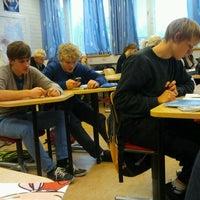 Photo taken at Sotungin lukio by Joel N. on 11/11/2011