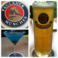 Photo taken at Paulaner Bräuhaus by Chen S. on 7/1/2012