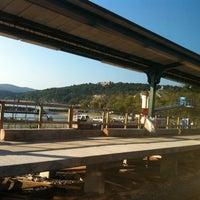 Photo taken at Metro North - Peekskill Train Station by Jishnu M. on 8/20/2011