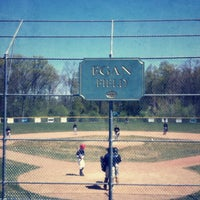 Photo taken at EMC Baseball Fields by Chris P. on 4/28/2012