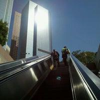 Photo taken at Pershing Square Metro Station by Andrew M. on 7/30/2012