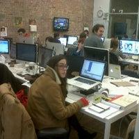 Photo taken at BuzzFeed Loft by WebAnna G. on 12/12/2011