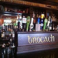Photo taken at Brocach Irish Pub by Steve D. on 9/28/2011