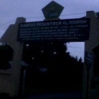 Photo taken at Kampus Pesantren AL-HIDAYAH by Cece X. on 1/1/2012