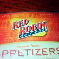 Photo taken at Red Robin Gourmet Burgers by Joe C. on 9/11/2011