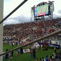 Photo taken at FAU Football Stadium by Chris S. on 10/15/2011