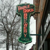 Photo taken at Triple Rock Brewing Co. by Joseph T. on 3/11/2012