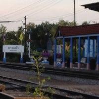 Photo taken at สถานีรถไฟบางแก้ว (Bang Kaeo) SRT4331 by Kamonpan P. on 6/26/2012