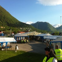 Photo taken at Jølster by Jo Marius B. on 5/27/2012