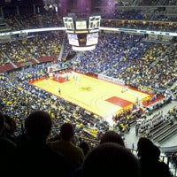 Photo taken at Wells Fargo Arena by Tyler D. on 11/20/2011