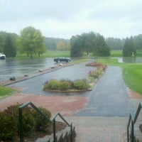 Photo taken at Lake Wisconsin Country Club by Nic L. on 9/26/2011