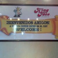 Photo taken at King Taco Restaurant by John V. on 8/13/2012