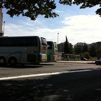 Photo taken at Donostia | San Sebastián Bus Station by Laura O. on 5/29/2011