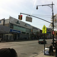 Photo taken at Fordham Shopping District by fromTheBronx 4sq Page on 4/14/2012
