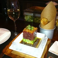 Photo taken at BLT Steak by Mariya O. on 10/31/2011