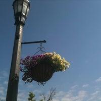 Photo taken at Village of East Aurora by John M. on 6/20/2012