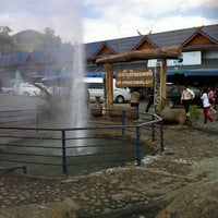 Photo taken at The Highest Hot Spring in Thailand by Bee on 12/31/2010