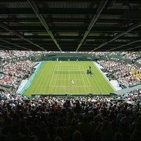 Photo taken at The All England Lawn Tennis Club by Pridumay M. on 8/4/2012