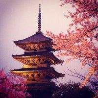 4/13/2012にucho s.が東寺 (教王護国寺)で撮った写真