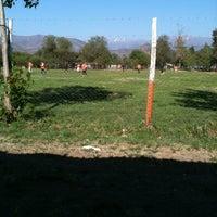 Photo taken at Cancha El Colorado by Emilio C. on 10/29/2011