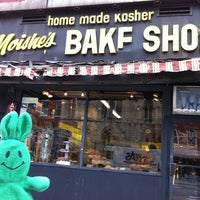 Photo taken at Moishe's Bake Shop by greenie m. on 2/29/2012