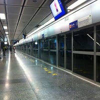 Photo taken at MRT Si Lom (SIL) by Patthinun B. on 2/28/2012