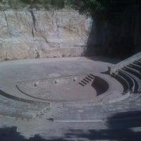 Photo taken at Teatre Grec by Kris M. on 8/29/2011