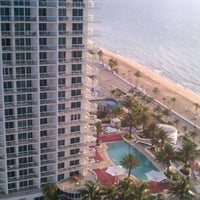 Photo taken at Hilton Fort Lauderdale Beach Resort by KENNECTED on 5/28/2012