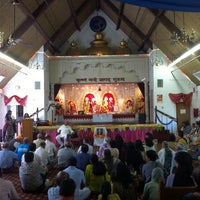 Photo taken at Fremont Hindu Temple by Gopal P. on 8/28/2011