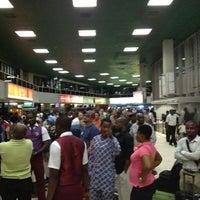 Photo taken at Murtala Muhammed International Airport (LOS) by Emmanuel F. on 3/30/2012