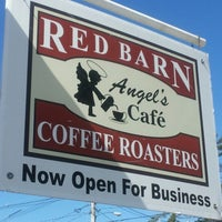 Photo taken at Red Barn Coffee At Angel's Cafe by Amanda J. on 8/29/2012