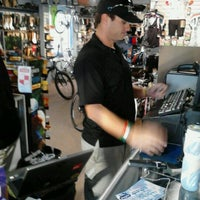 Photo taken at Bob's Bicycle Shop by Mark P. on 1/20/2012