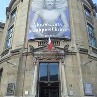 Photo taken at Musée Guimet – Musée National des Arts Asiatiques by Fernando P. on 8/31/2012