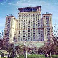 Снимок сделан в Гостиница «Украина» пользователем Денис Д. 9/12/2012