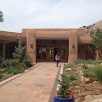 Photo taken at Ojo Caliente Mineral Springs Resort & Spa by Phil P. on 6/5/2012
