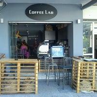 Photo taken at Coffee Lab - 1st Espresso Bar by Tasos D. on 7/19/2012